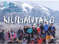 Kilimanjaro Challenge for Dig Deep Charity | Comedy+Dinner 18:30