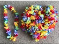 Hawaiian Party Neck Scarfs x18
