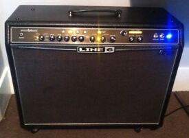 Guitar Amplifier Line 6 Spider 212 'Bognor' valve modelling combo amp.