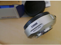 Olympus MMF1 four thirds adapter