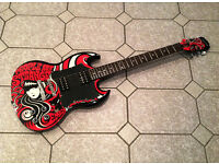 Epiphone Limited Edition SG with accessories *PRICE DROP