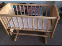 REDUCED: Mothercare Crib in excellent condition