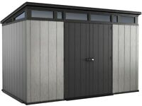 New Keter Artisan 11x7 feet Outdoor Garden Storage Shed Free Delivery