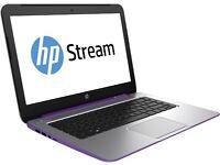 HP STREAM 14 LAPTOP - 32GB HDD + EASILY ADD 64GB - WINDOWS 8.1