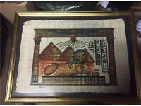 Egyptian Sphinx & Pyramids Picture