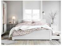 IKEA BRUSALI Double Bed Frame