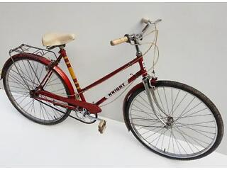 vintage ladies o'brien 'knight' town bicycle