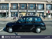 Black cab rent night shifts Monday - Thursday
