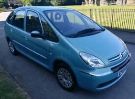 2005 Citroën Picasso, Service History & Low mileage, Air con. £990
