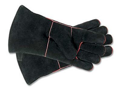 """Minuteman Fireplace Hearth Gloves 13 1/2"""" Long A-12BK"""