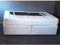 Double bed frame, ortho mattress & headboard