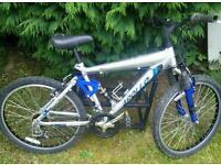 Mens mountain bike Apollo pivot dual suspension 21 speed
