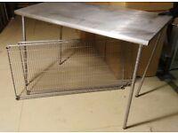 Aluminum Work Table