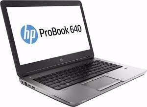 MEGA SOLDES : HP Probook 640 Core i5 (4e géné) - 8Gb - 320GB - Win 7/10 - HDMI