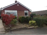 3 bed bungalow great links to M65/M6/M61 garage, parking and large garden
