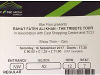 USTAD RAHAT FATEH ALI KHAN WEMBELY ARENA CONCERT LONDON 2017, TRIBUTE TOUR TO NUSRAT FATEH ALI KHAN