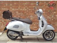 Piaggio Vespa GTS 125cc Touring (17 REG), 70th years aniversery adition, Less than 6 months old!