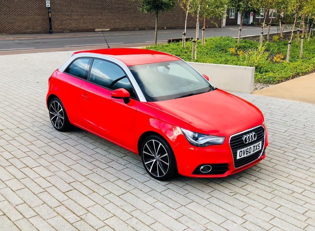 AUDI A1 1.6 TDI SPORT 3d 103 BHP (red) 2010