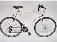 vintage gents Raleigh pioneer trail town bicycle hybrid
