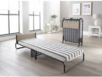 New jaybe foldable bed with mattress