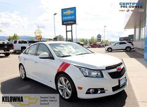 2012 Chevrolet Cruze LTZ Turbo | Heated Seats | Leather Interior