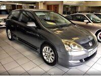 Honda Civic 1.6 i-VTEC SE Hatchback 3dr MOT 02/2018 FSH