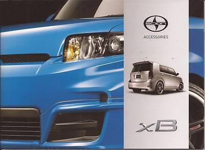 2012 12 Scion XB  Accessories  Sales brochure