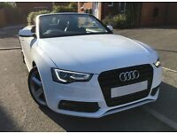 Audi A5 S Line Convertible - Alpine White - Low Milage 1.8 TFSI - Full Black Leather New Shape