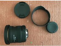 *NEW* Sigma 10-20mm F3.5 EX DC Lens