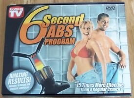 6 second ABS Crunch Exerciser Programme