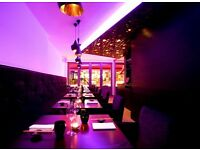 WAITERS, WAITRESSES AND RECEPTIONIST FOR PAN ASIAN RESTAURANT IN CENTRAL LONDON
