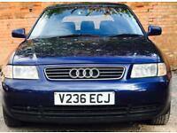 1999 (DEC99) AUDI A3 1.8 SE - 5 DOORS - PETROL - LOW MILES - LONG MOT - MANUAL