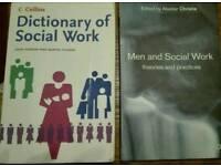 Social work books various