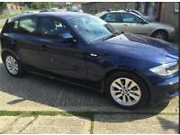 BMW 1 SIERES 2011 116D LOW MILLAGE 55k. 2 OWNERS FULL HISTORY.