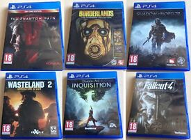 6x PS4 games bundle