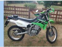 2015 Kawasaki KLX250 Low mileage - Includes spare set wheels with road tyres