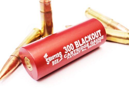 300 AAC Blackout Case & Ammunition Gauge - Patented Design ! - Free Shipping!