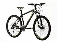 Brand NEW Mountain bikes For SALE £225 Hi-spec shiny black