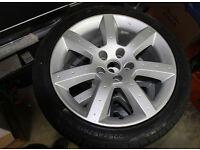4 x 350z / Skyline / 200SX / Supra alloy wheels and tyres.