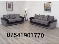 THIS WEEK SPECIAL OFFER HEPBURN 3+2 SEATER SOFAS FREE DELIVERY