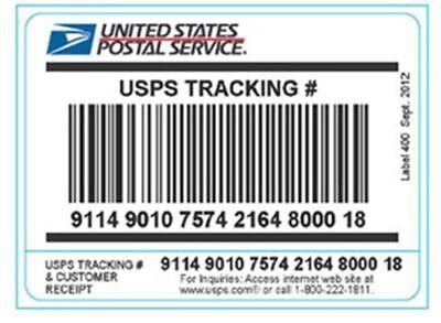 100 Selfedhessive Usps Tracking Labels For Ebay Amazon Etc. Shipping Label
