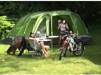 VOYAGER ELITE 6 TENT PLUS AWNING - LARGE 6 PERSON TENT