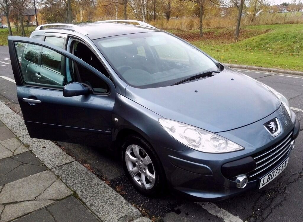 2007 peugeot 307 sw 1 6 hdi 110 seven seater diesel in. Black Bedroom Furniture Sets. Home Design Ideas