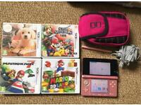 Nintendo 3DS Pink bundle