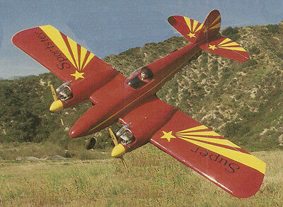Super Sportster Twin Sport Plane Plans Templates And Instructions 62Ws