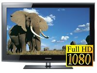 """WOW"" 46"" Samsung LE46B550B FullHD 1080p LCD TV, 3x HDMI, USB, Freeview, only £200 inc Guarantee"