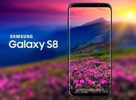 Samsung Galaxy S8 in Midnight Black 64Gb Brand new sealed