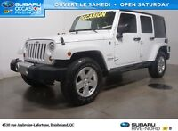2011 Jeep WRANGLER UNLIMITED Sahara  2 TOITS