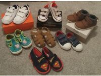 Toddler boys shoes bundle size 6 £25