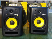 Pair of KRK Rokit 8 (RPG 2) Monitors in amazing condition.
